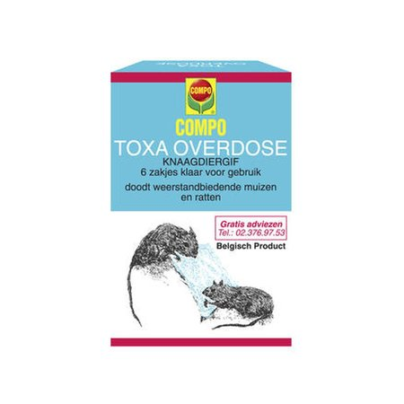 Toxa Overdose 6 x 25 g