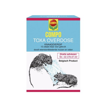 Toxa Overdose 12 x 25 g
