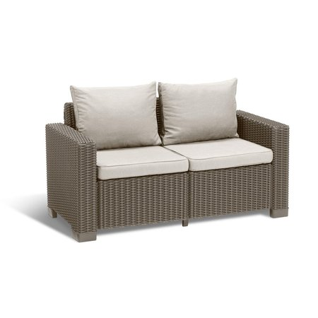 All California Sofa 2-Zit Cappuccino