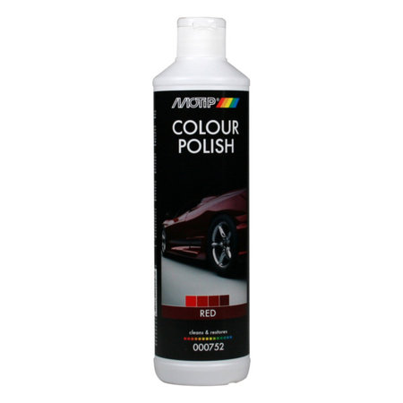 Motip Colour Polish Red 500ml