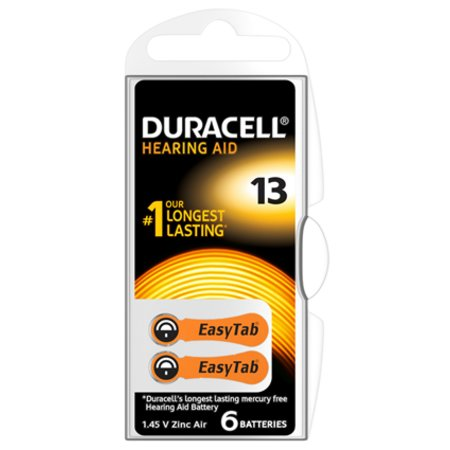 Duracell Hearing Aid 2x Batterij 13 1,45V - 163751379