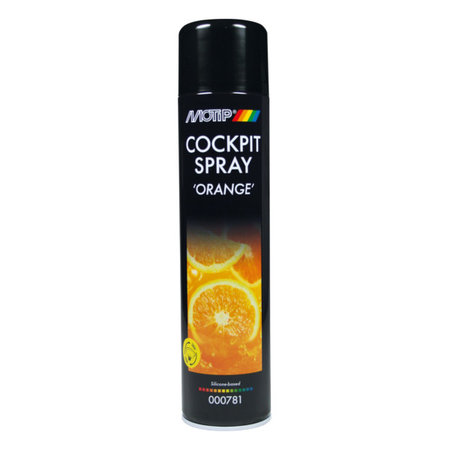 Motip Cockpitspray Semi Gloss Orange 600ml