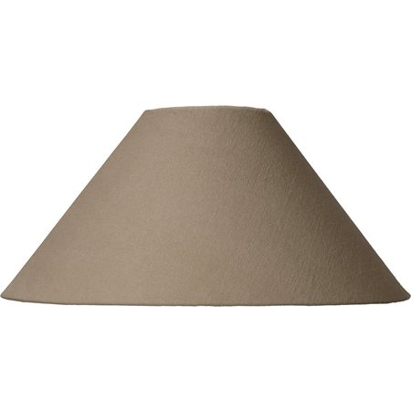 Lucide Lampenkap Shade Ø 35,5cm Taupe