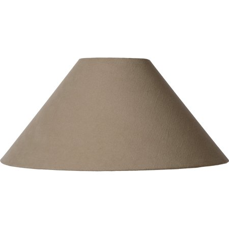 Lucide Lampenkap Shade Ø 45,5cm Taupe