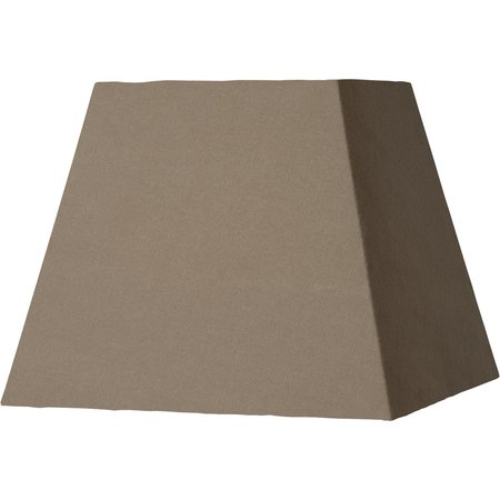 Lucide Lampenkap Shade Vierkant Taupe