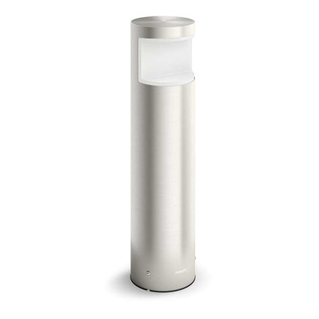Philips Buitenlamp Squirrel 6W LED Inox