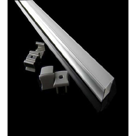 Fantasia Notte Aluminium Profile F. Led Strip 17,5x15x2000mm