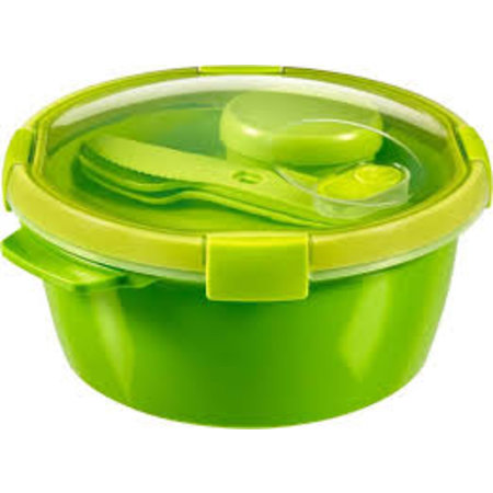 Curver Smart To Go Set Lunchbox + Sauscup + Bestek Rond 1,6L