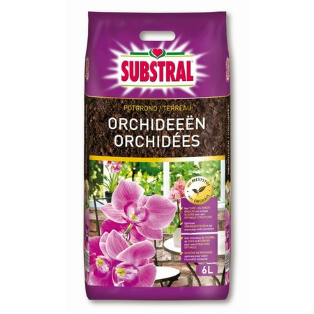 Substral Potgrond Orchideeën 6 L