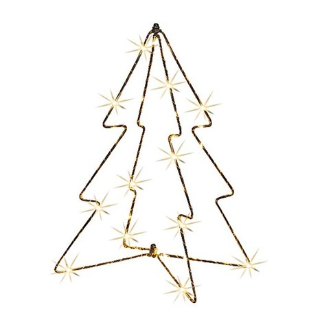 Day Kerstboom 40 mini-leds 23,5cm