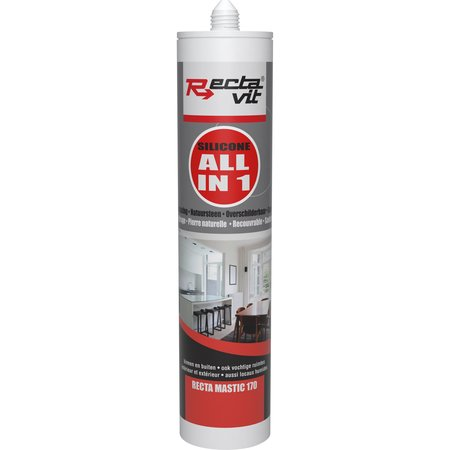 Rectavit Recta-Mastic 170 All In One Zwart 310ml