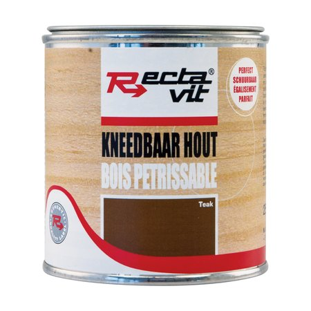 Rectavit Kneedbaar Hout Teak 250ml