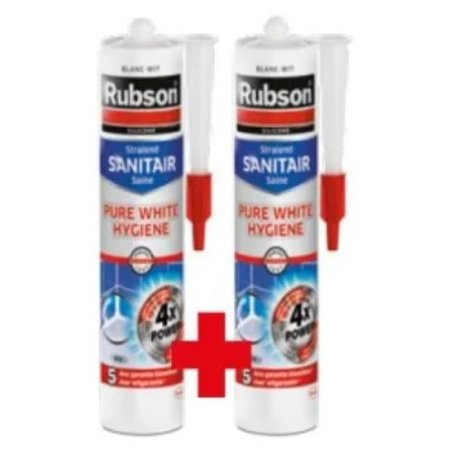 Rubson Voegkit 'Pure White Hygiene' 300ml Duo-Pack