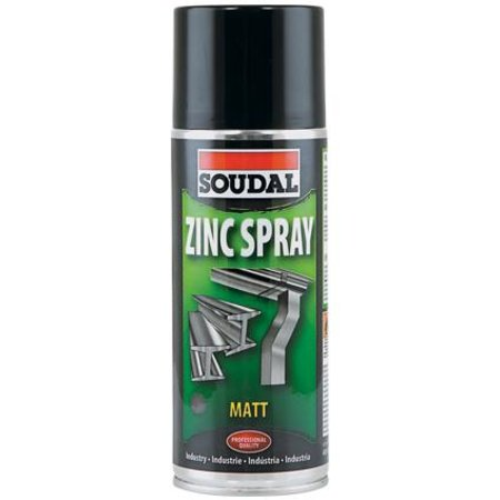 Soudal Zinc Spray Matt 400ml