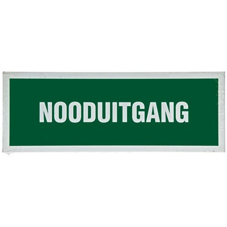 Pickup Pictogram Nooduitgang 330x120mm