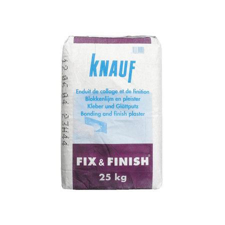 Knauf Pleister Fix & Finish 25kg